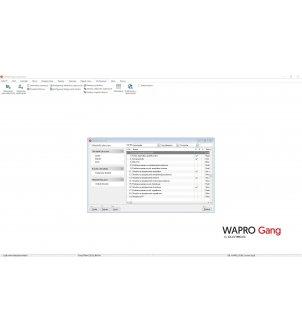 Lista składników płacowych w programie WAPRO GANG