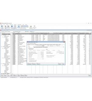 Podgląd amortyzacji bilansowej wybranego składnika majątku trwałego w programie WAPRO BEST