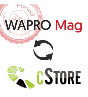połączenie wapro mag cstore