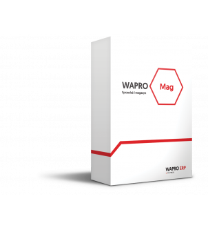 Wersja pudełkowa programu WAPRO MAG BIZNES