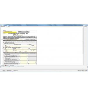 Okno definiowania deklaracji VAT-7 w programie WAPRO KAPER