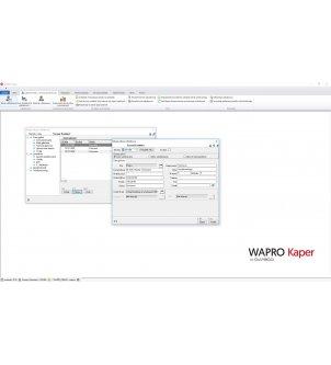 Definiowanie udziałowców w programie WAPRO KAPER