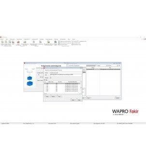 Definiowanie przeksięgowań w programie WAPRO FAKIR