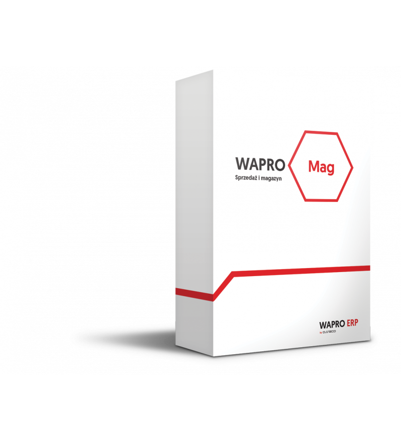 Wersja pudełkowa programu WAPRO MAG START